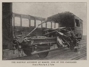 The Railway Accident at March, One of the Carriages