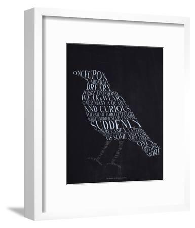 The Raven--Framed Art Print