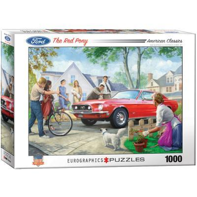 The Red Pony by Nestor Taylor 1000 Piece Puzzle