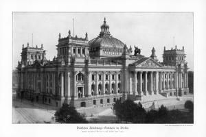 The Reichstag in the Late 19th Century, 1900