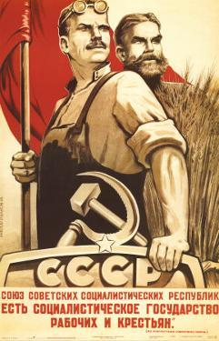 The Republic Of Social Soviet Union For Country And Urban Worker