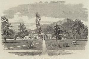 The Residence of the British Envoy, at Khatmandham, Nepaul