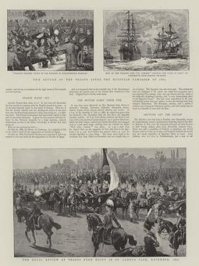 The Return of the Troops after the Egyptian Campaign of 1882
