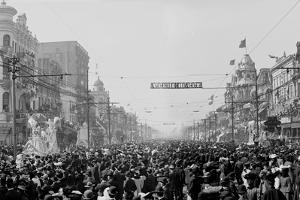 The Rex Pageant, Mardi Gras