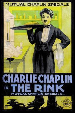 The Rink Movie Charlie Chaplin Poster Print