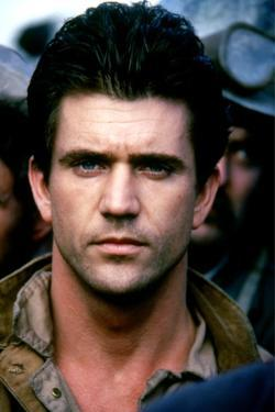 The River by Mark Rydell with Mel Gibson, 1984 (photo)