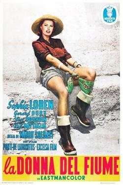 The River Girl 1955 (La Donna Del Fiume)