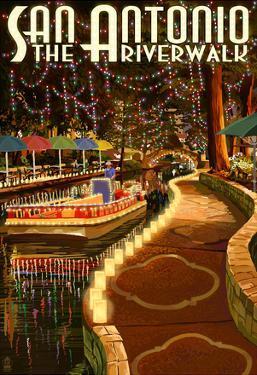 The Riverwalk - San Antonio, Texas
