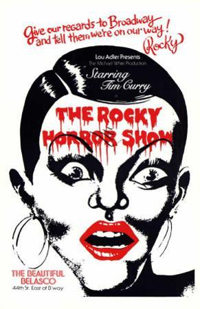 The Rocky Horror Picture Show - Broadway Poster