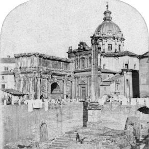 The Roman Forum, Rome, Italy, Early 20th Century