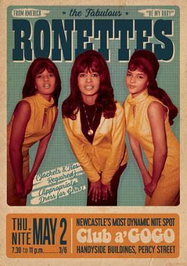 The Ronettes Club a go go