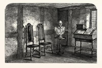 The Room Where Shakespeare Was Born, Stratford Upon Avon, Stratford-Upon-Avon, Uk