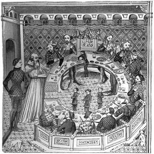 The Round Table of King Artus of Brittany, 14th Century