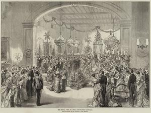 The Royal Visit to India, the Madras Club Ball