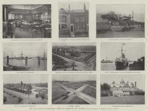 The Royal Visit to Portsmouth, Views of Portsmouth and Southsea