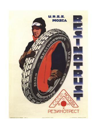 The Rubber Trust. USSR. Moscow