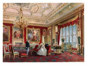 'The Rubens Room, Windsor Castle'. C1850-1910