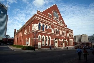 The Ryman Auditorium in Nashville Tennessee