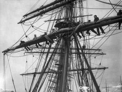 The Sailing Ship the Terra Nova