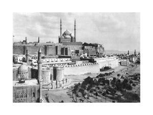 The Saladin Citadel, Cairo, Egypt, C1920S