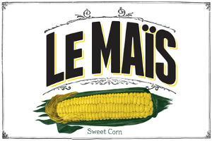 French Produce - Corn by The Saturday Evening Post