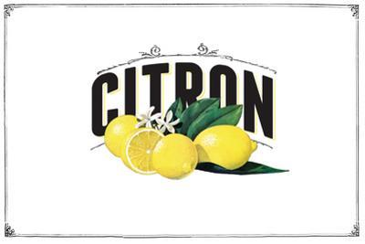 French Produce - Lemon by The Saturday Evening Post