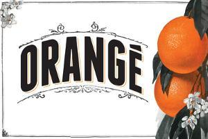French Produce - Orange by The Saturday Evening Post