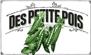French Produce - Peas by The Saturday Evening Post