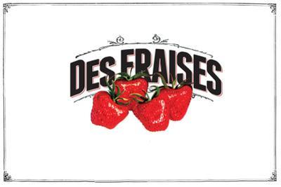French Produce - Strawberries by The Saturday Evening Post