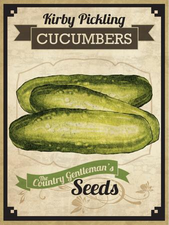 Seed Packet - Pickle by The Saturday Evening Post