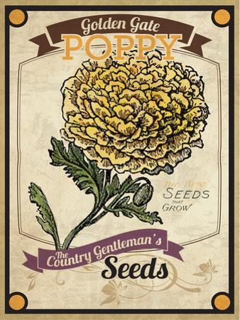Seed Packet - Poppy by The Saturday Evening Post