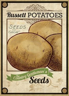 Seed Packet - Potatoes by The Saturday Evening Post