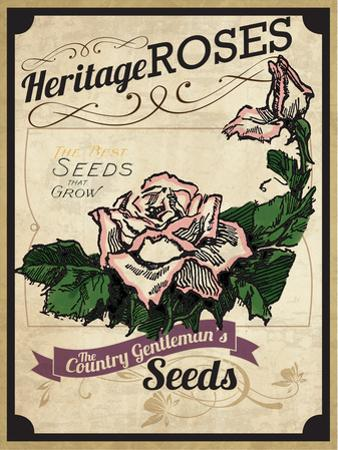 Seed Packet - Roses by The Saturday Evening Post