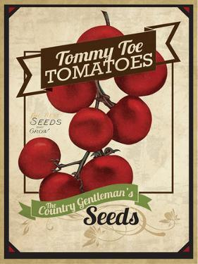 Seed Packet - TommyToes by The Saturday Evening Post