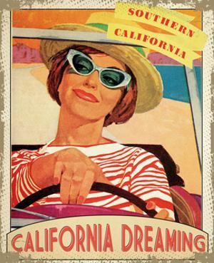 Travel California by The Saturday Evening Post