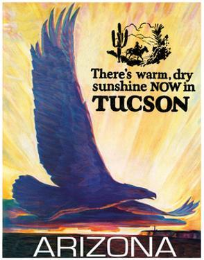 Travel Poster - Arizona by The Saturday Evening Post