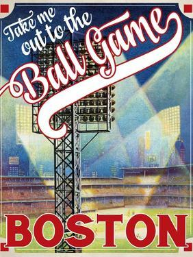 Travel Poster - Boston by The Saturday Evening Post