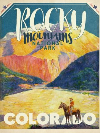 Travel Poster - Colorado