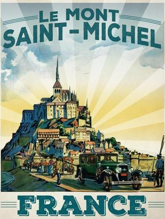 Travel Poster - France by The Saturday Evening Post