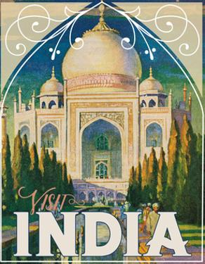 Travel Poster - India by The Saturday Evening Post