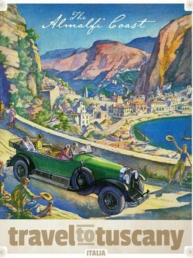 Travel Poster - Italy by The Saturday Evening Post