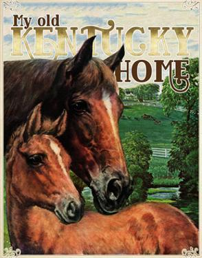 Travel Poster - Kentucky by The Saturday Evening Post