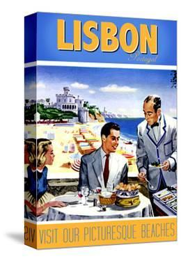 Travel Poster - Lisbon by The Saturday Evening Post