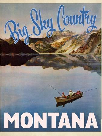 Travel Poster - Montana