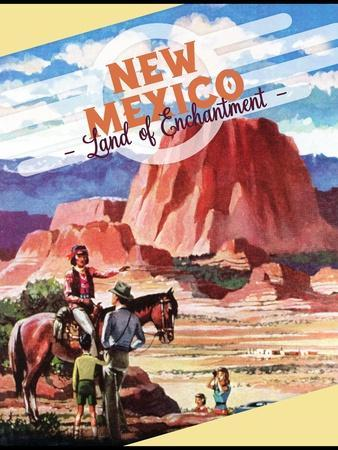 Travel Poster - New Mexico
