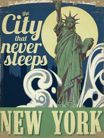 Travel Poster - New York