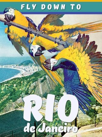 Travel Poster - Rio by The Saturday Evening Post