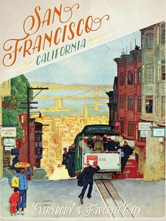 Travel Poster - SanFransisco