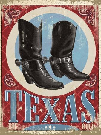 Travel Poster - Texas