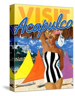 Visit Acapulco by The Saturday Evening Post